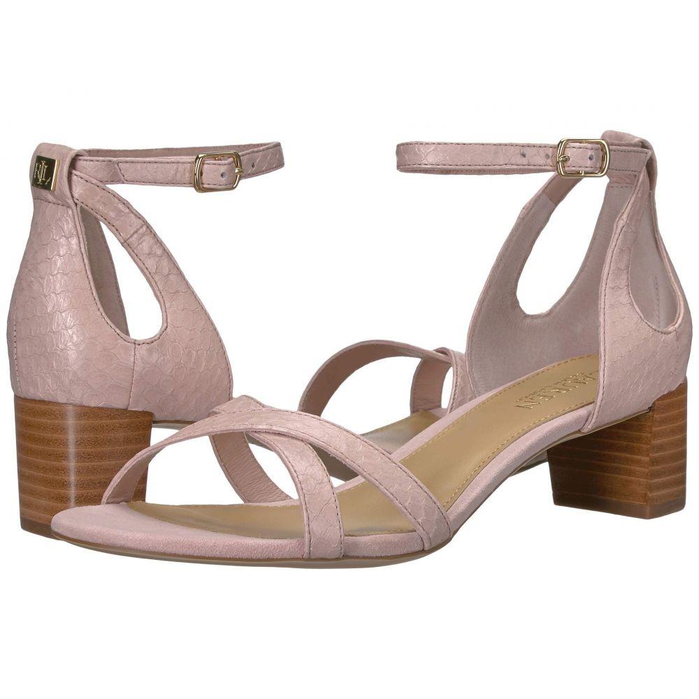 ラルフ ローレン LAUREN Ralph Lauren レディース サンダル・ミュール シューズ・靴【Folly】Pearl Pink Matte Snake