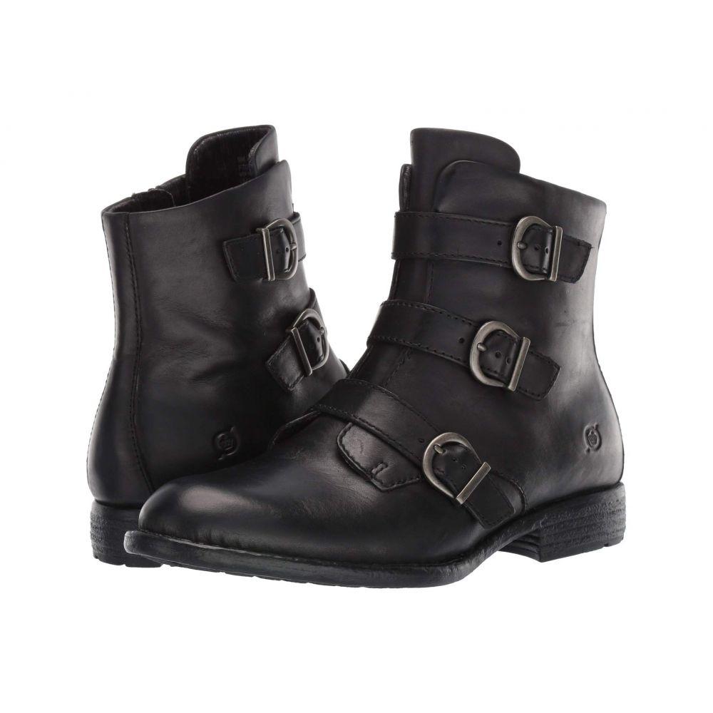 ボーン Born レディース ブーツ シューズ・靴【Nivine】Black Full Grain Leather