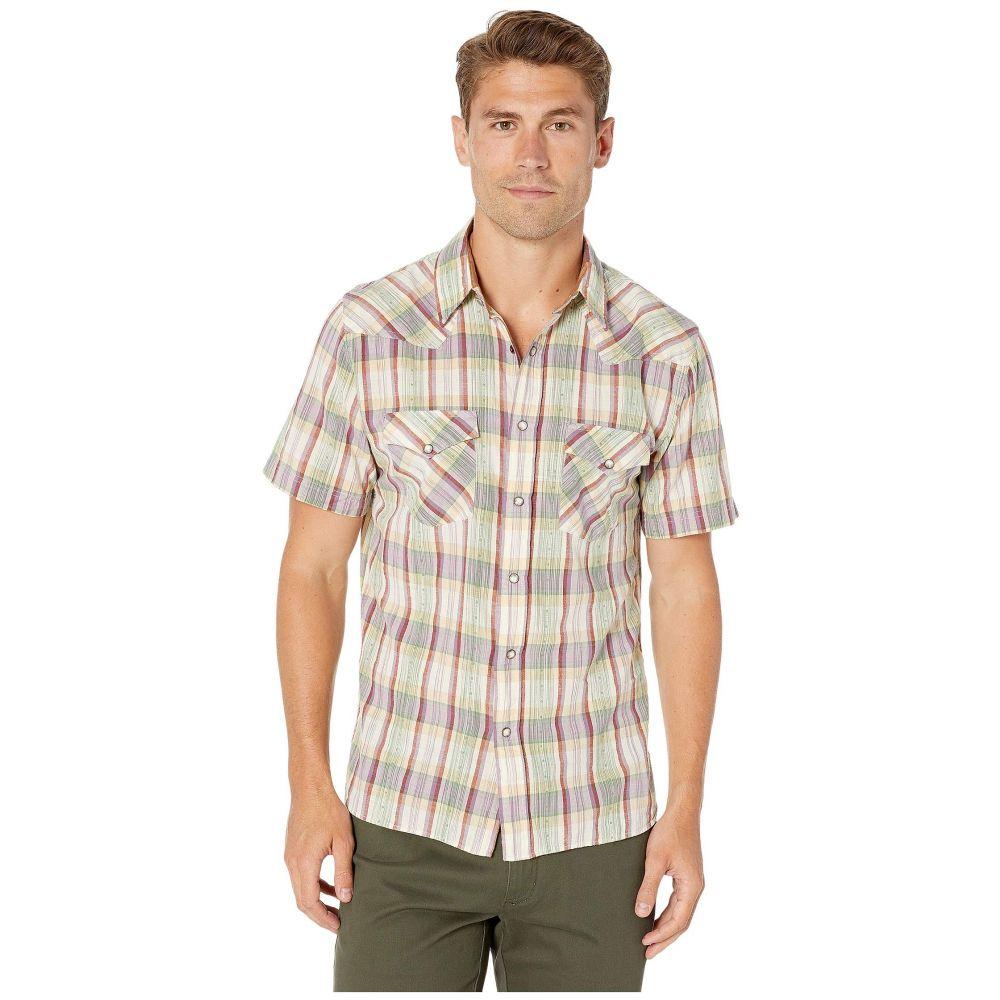 フライ Frye メンズ 半袖シャツ トップス【Western Short Sleeve Shirt】Grayson Plaid