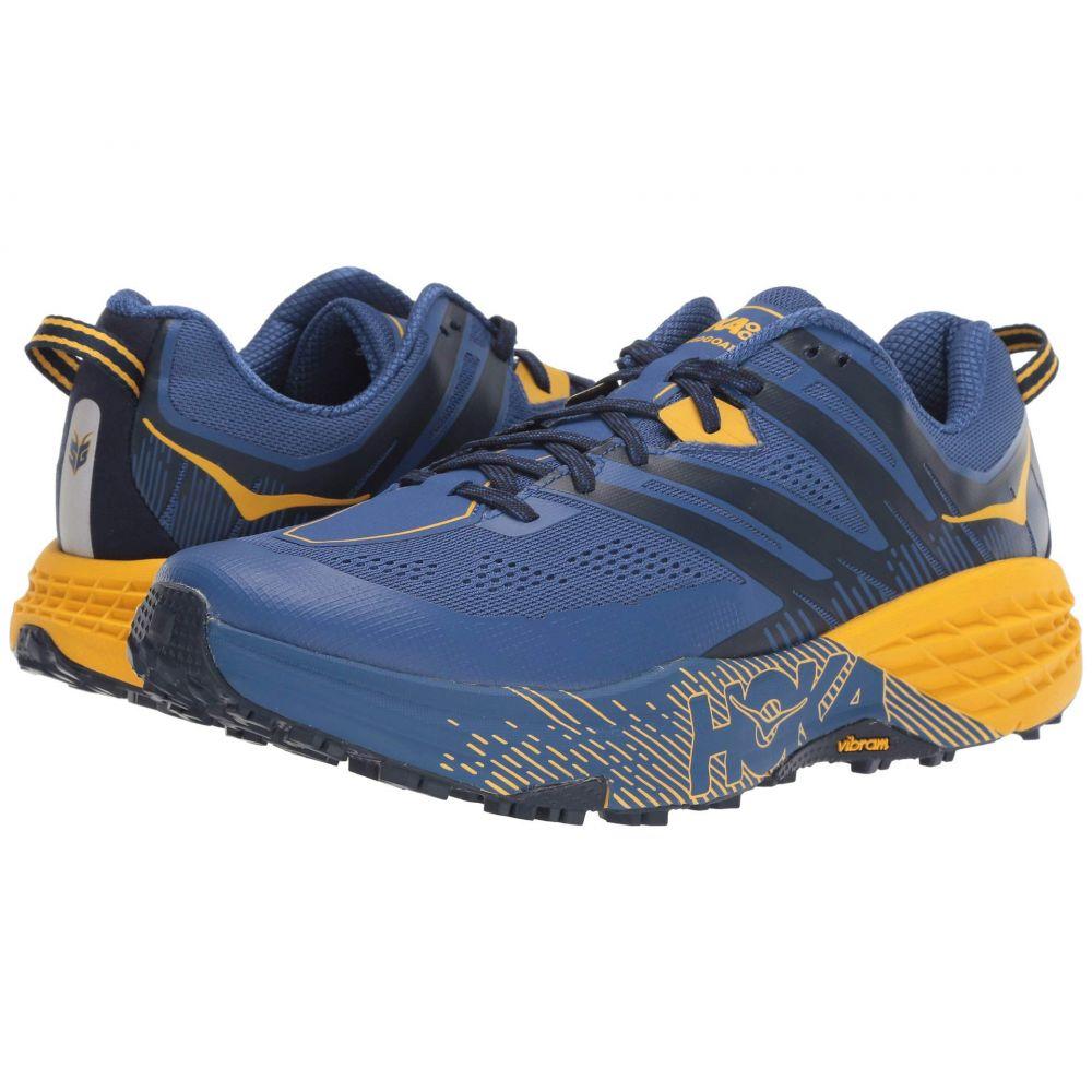 ホカ オネオネ Hoka One One メンズ ランニング・ウォーキング シューズ・靴【Speedgoat 3】Galaxy Blue/Old Gold