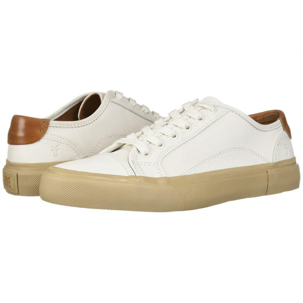 フライ Frye メンズ スニーカー シューズ・靴【Ludlow Cap Lowlace】White Sheep Leather