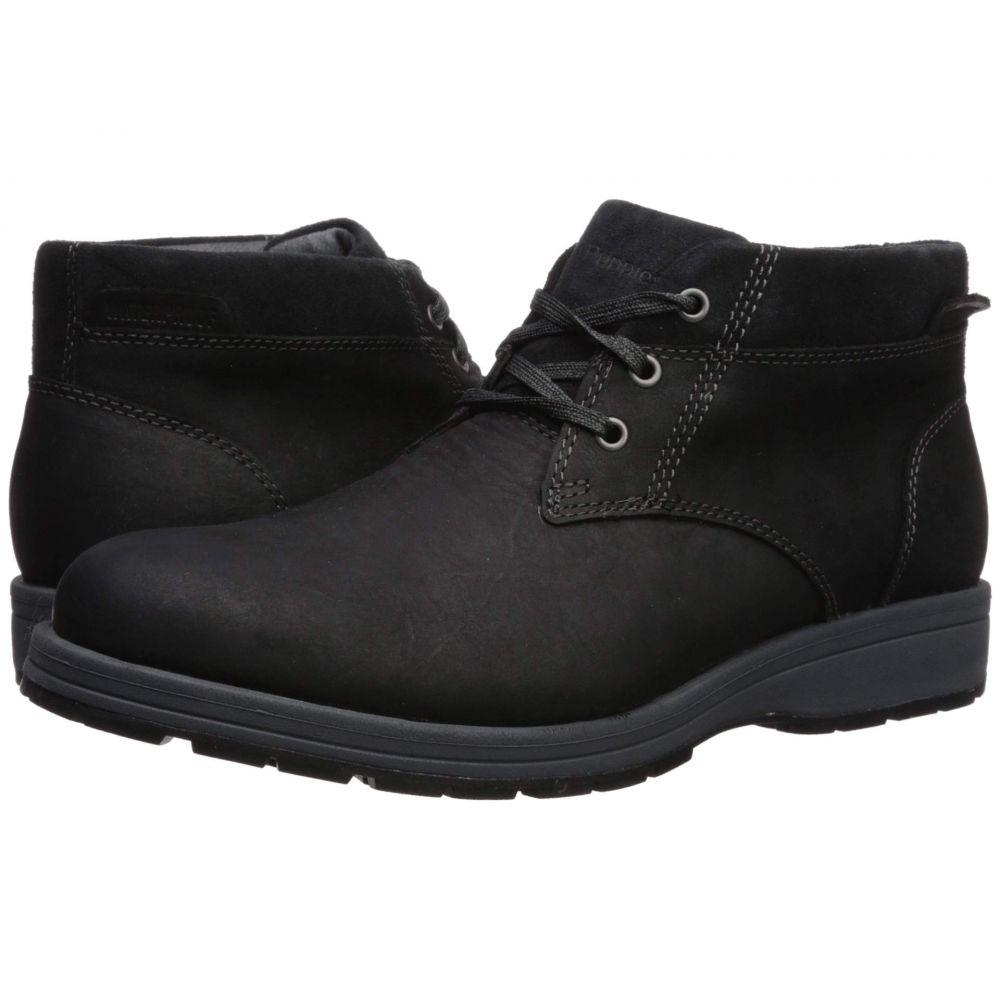 ハッシュパピー Hush Puppies メンズ ブーツ シューズ・靴【Beauceron Short ICE+】Black WP Leather