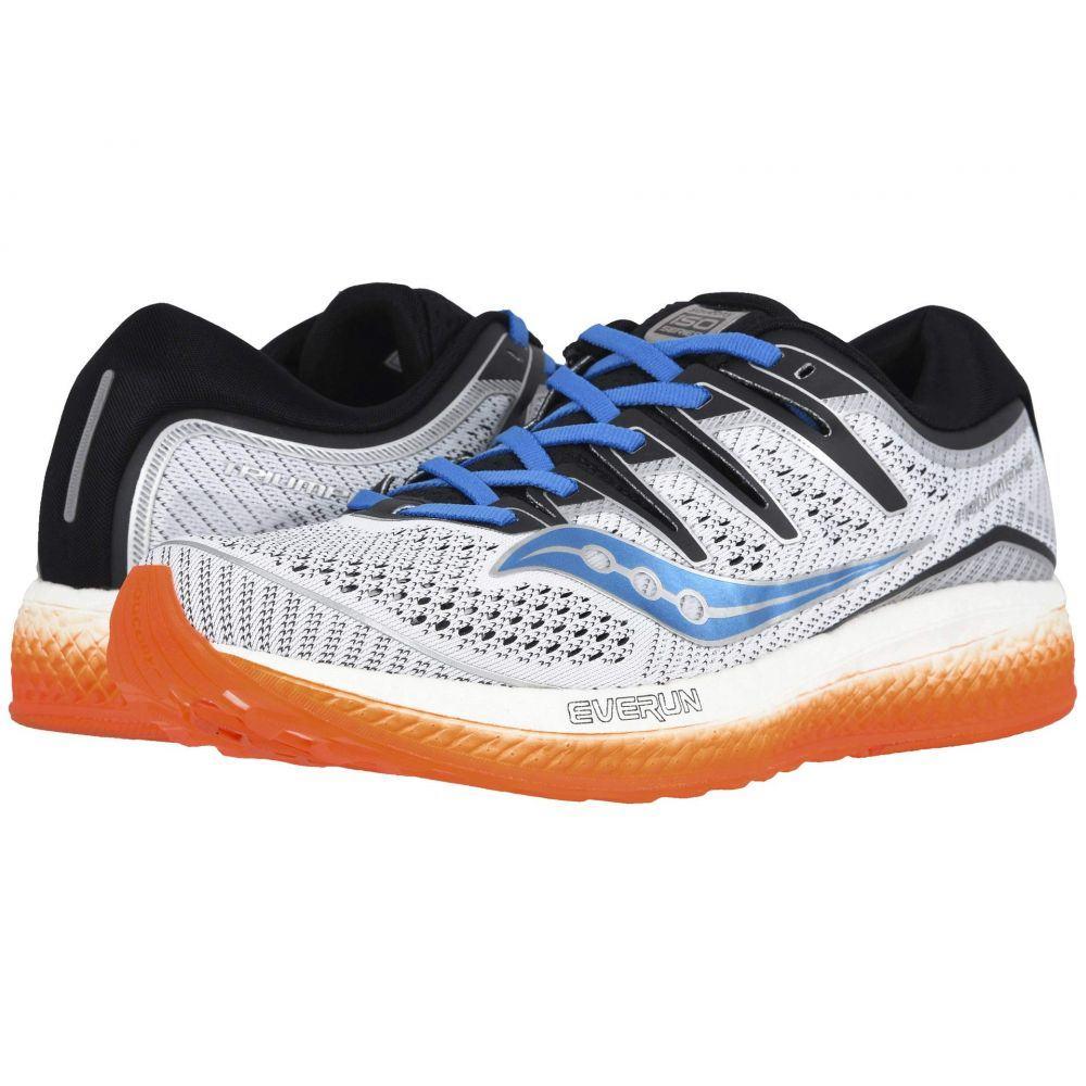 サッカニー Saucony メンズ ランニング・ウォーキング シューズ・靴【Triumph ISO 5】White/Black/Orange