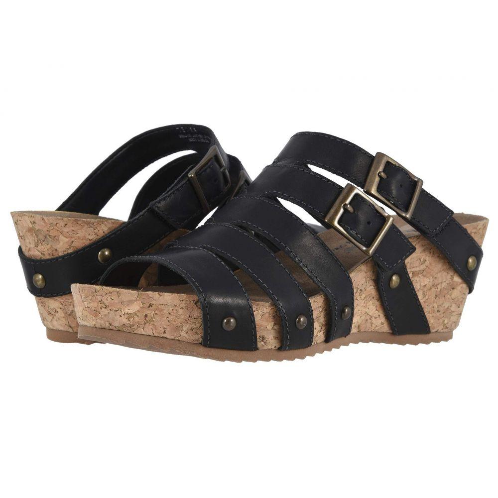 ウォーキング クレードル Walking Cradles レディース サンダル・ミュール シューズ・靴【Tetra】Black Rustic Leather