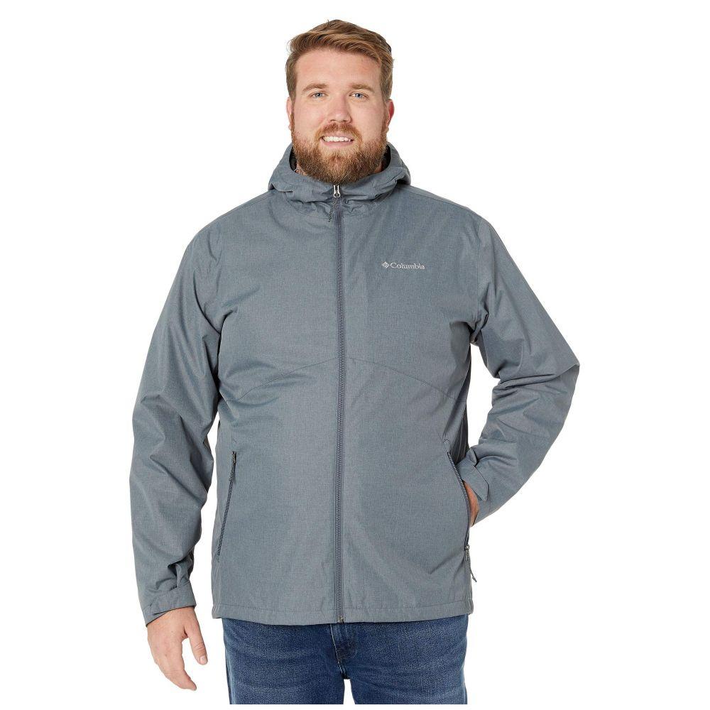 コロンビア Columbia メンズ ジャケット 大きいサイズ アウター【Big & Tall Rainie Falls Jacket】Graphite/Stone Sherpa