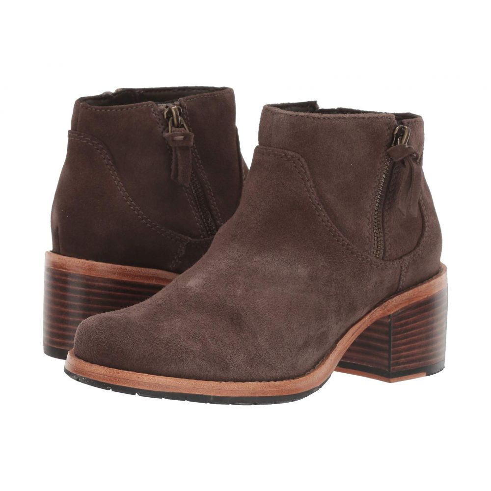 クラークス Clarks レディース ブーツ シューズ・靴【Clarkdale Dawn】Taupe Suede