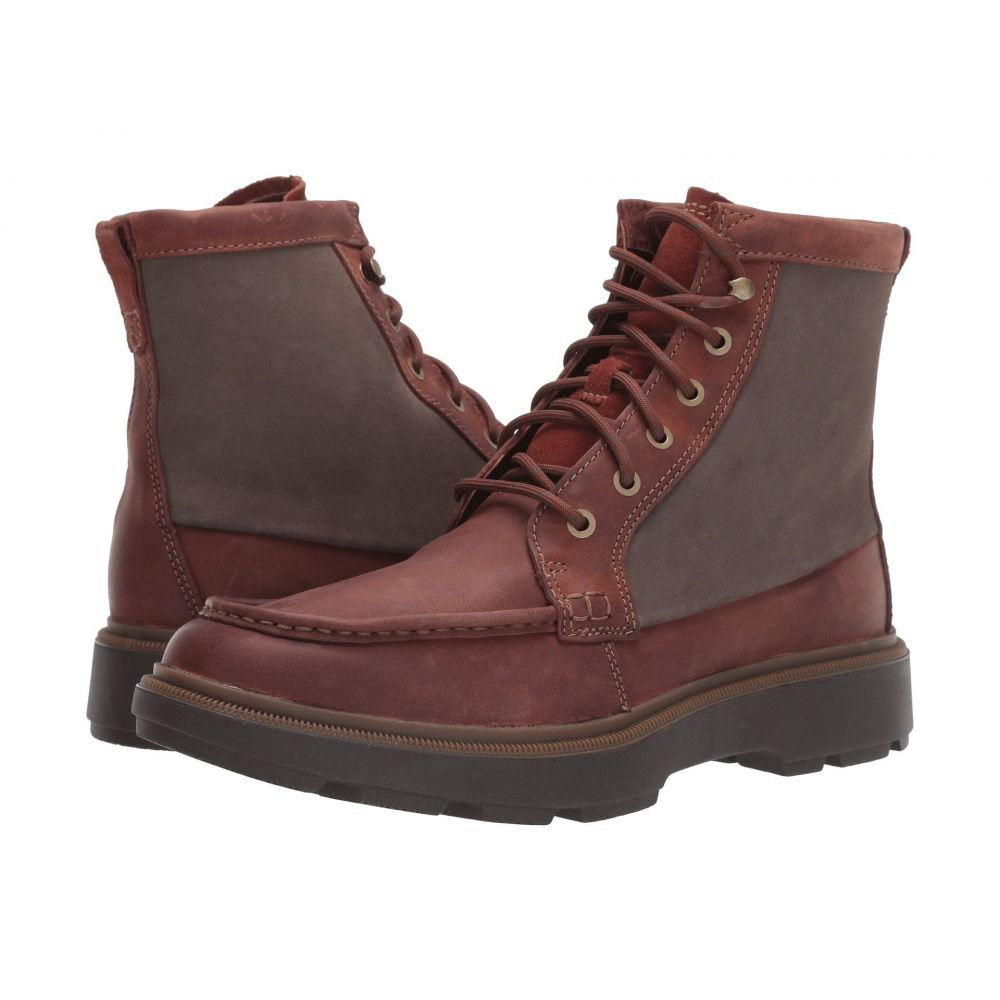 クラークス Clarks メンズ ブーツ シューズ・靴【Dempsey Peak】Mahogany Leather