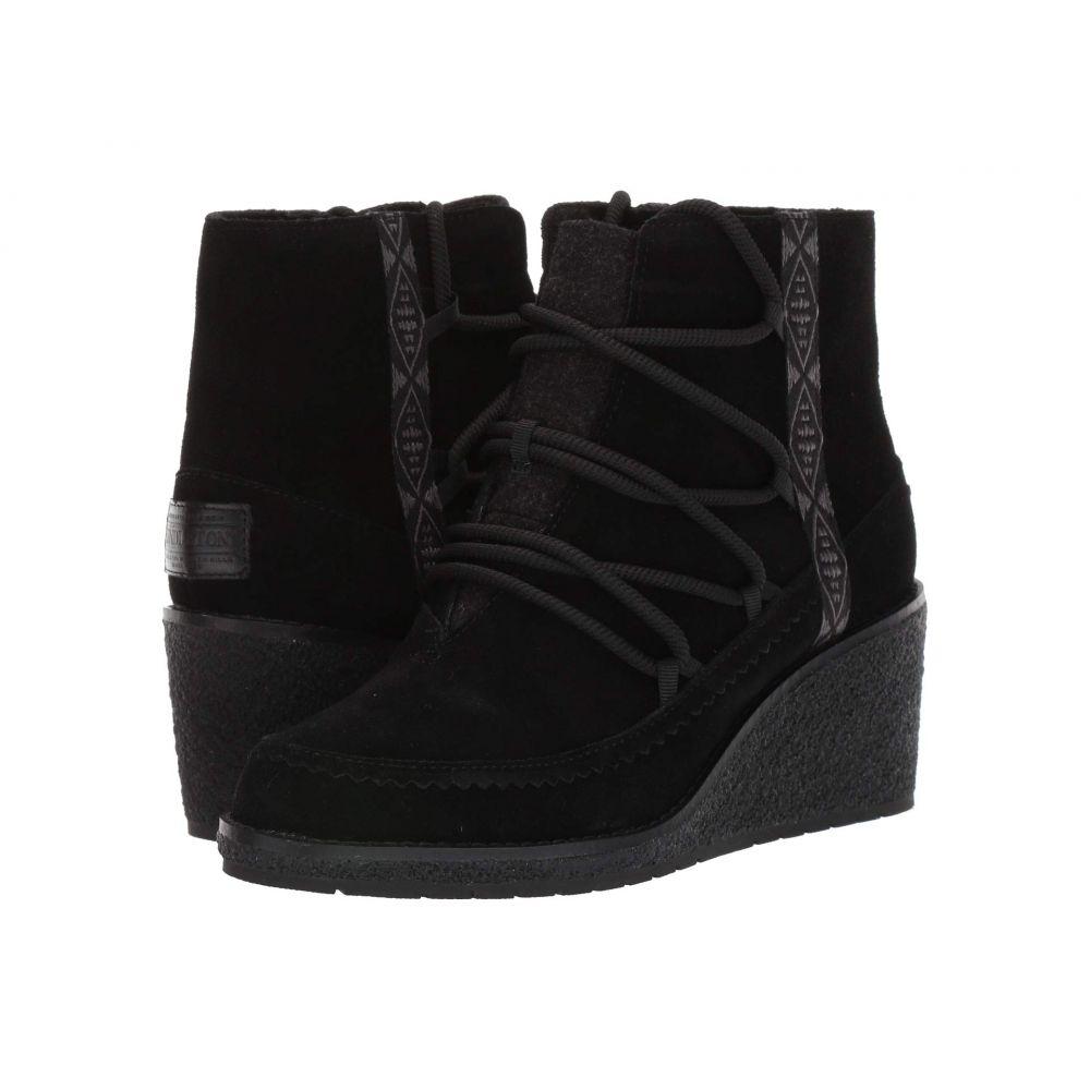 ペンドルトン Pendleton レディース ブーツ ウェッジソール シューズ・靴【Islegate Wedge】Black