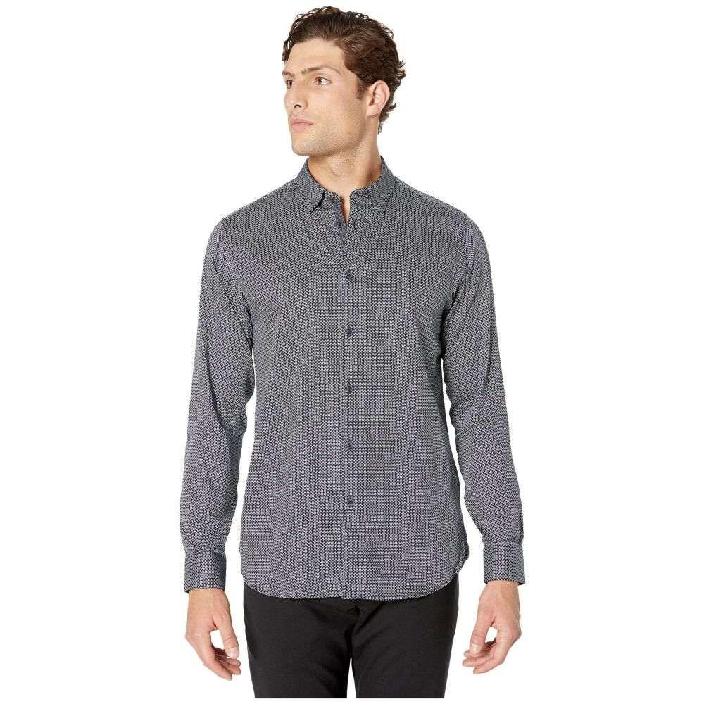 テッドベーカー Ted Baker メンズ シャツ トップス【Chemise Long Sleeve Geo Print Shirt】Navy