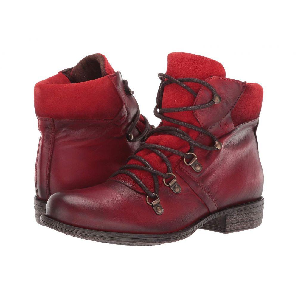 ミズムーズ Miz Mooz レディース ブーツ シューズ・靴【Lion】Antique Red