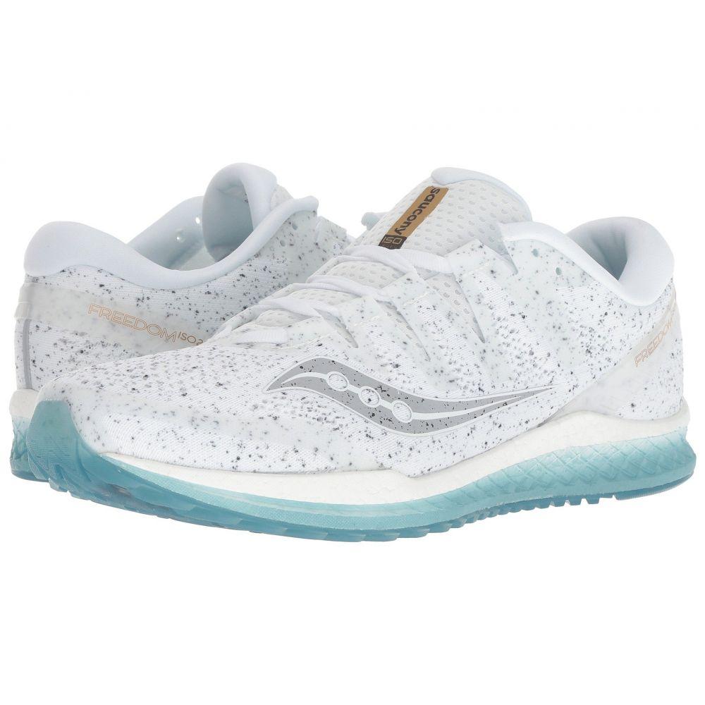 サッカニー Saucony メンズ ランニング・ウォーキング シューズ・靴【Freedom ISO】White