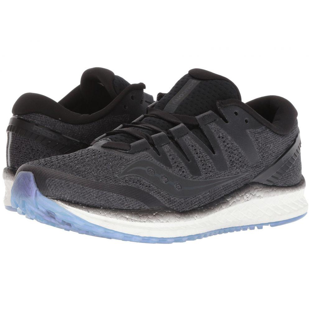 サッカニー Saucony レディース ランニング・ウォーキング シューズ・靴【Freedom ISO 2】Black