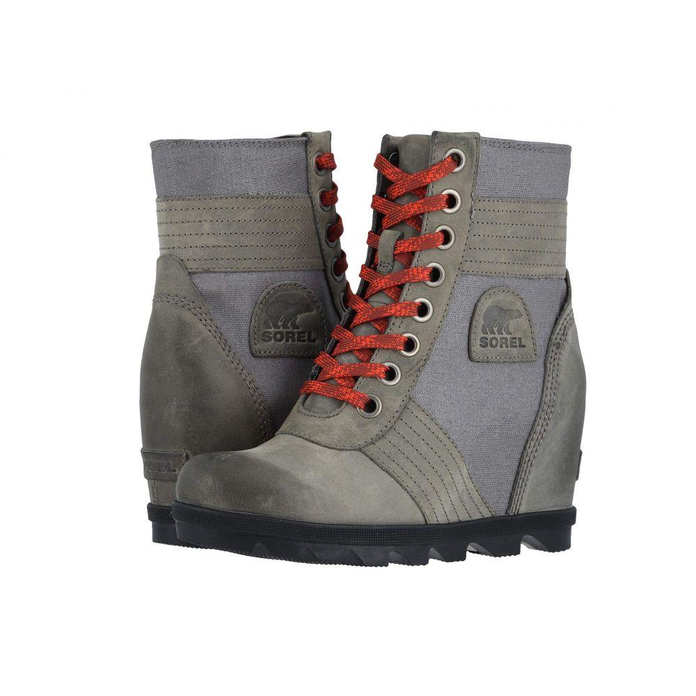 ソレル SOREL レディース ブーツ ウェッジソール シューズ・靴【Lexie Wedge】Quarry