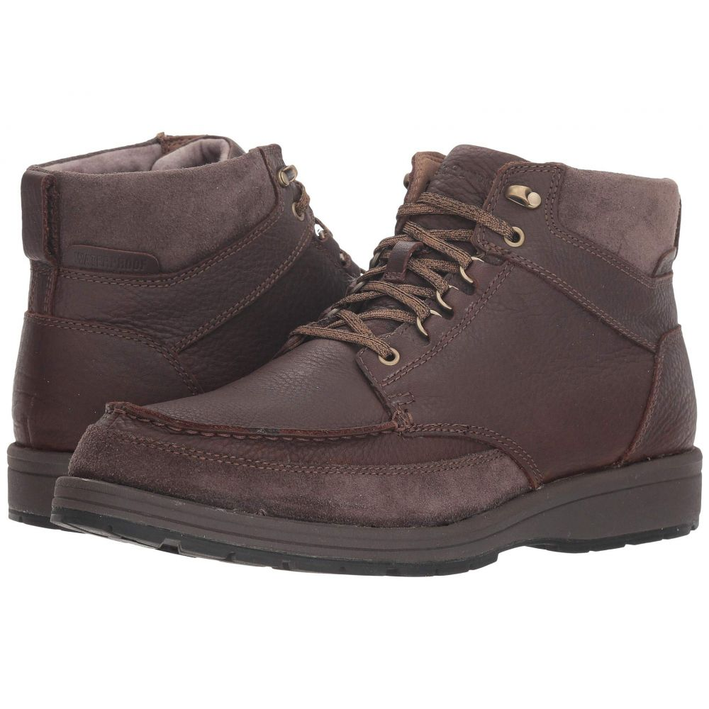 ハッシュパピー Hush Puppies メンズ ブーツ シューズ・靴【Beauceron Tall ICE+】Dark Brown WP Leather