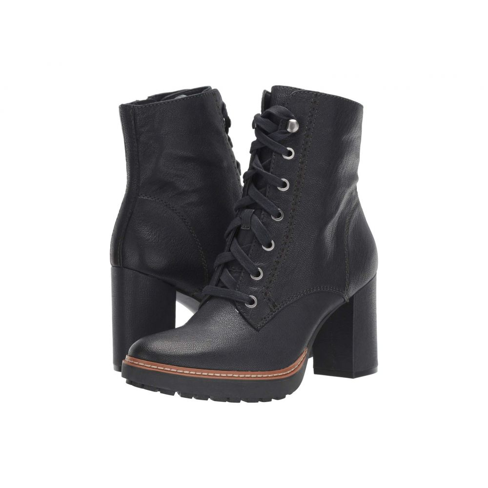 ナチュラライザー Naturalizer レディース ブーツ シューズ・靴【Callie】Inky Navy Tumbled Leather