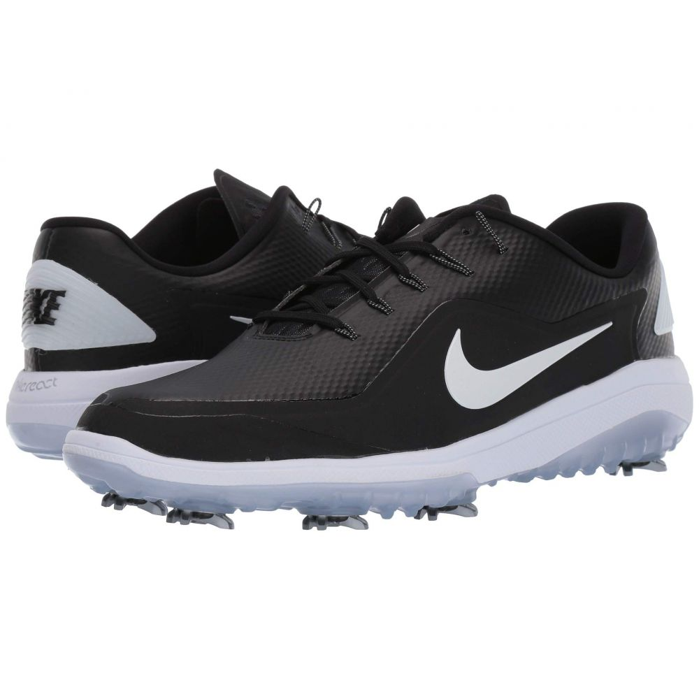 ナイキ Nike Golf メンズ シューズ・靴 【React Vapor 2】Black/Metallic White/White