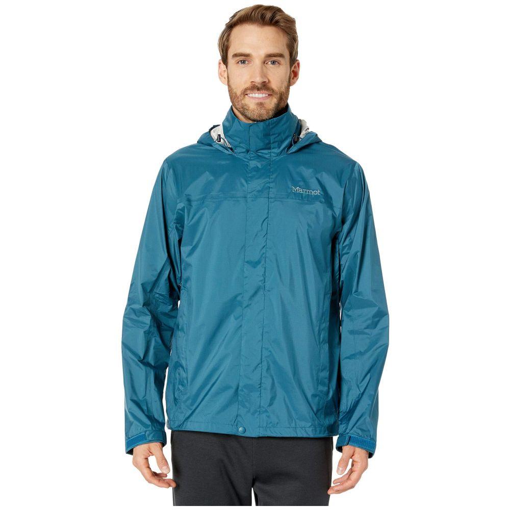 マーモット Marmot メンズ レインコート アウター【PreCip Eco Jacket】Moroccan Blue