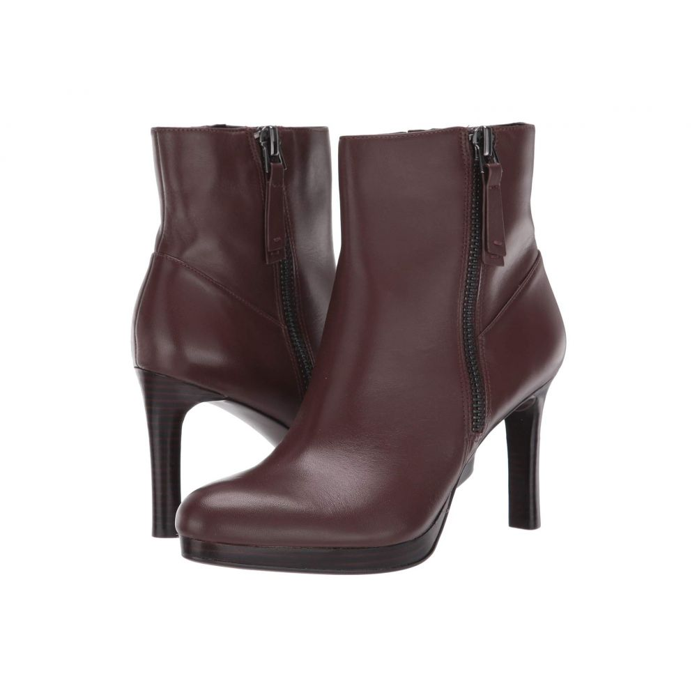 ナチュラライザー Naturalizer レディース ブーツ シューズ・靴【Tiana】Bridle Brown Leather