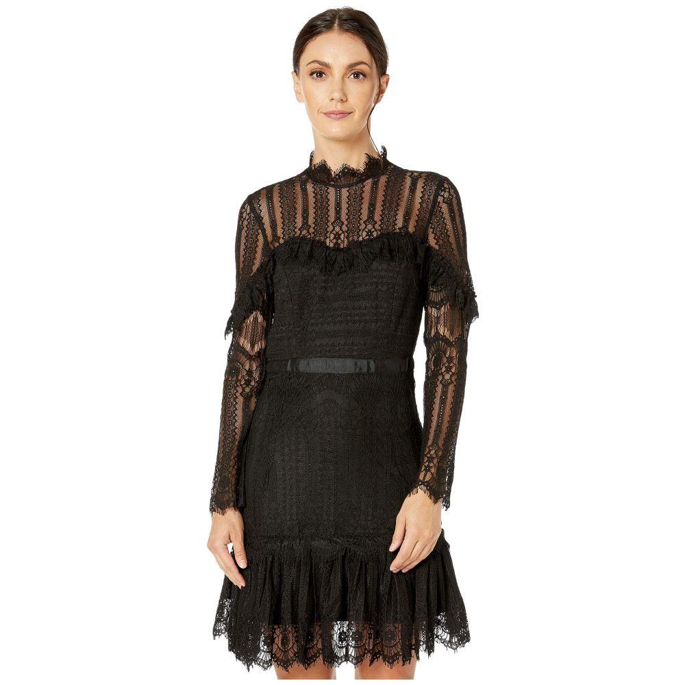バルドー Bardot レディース ワンピース ワンピース・ドレス【Tessie Lace Dress】Black