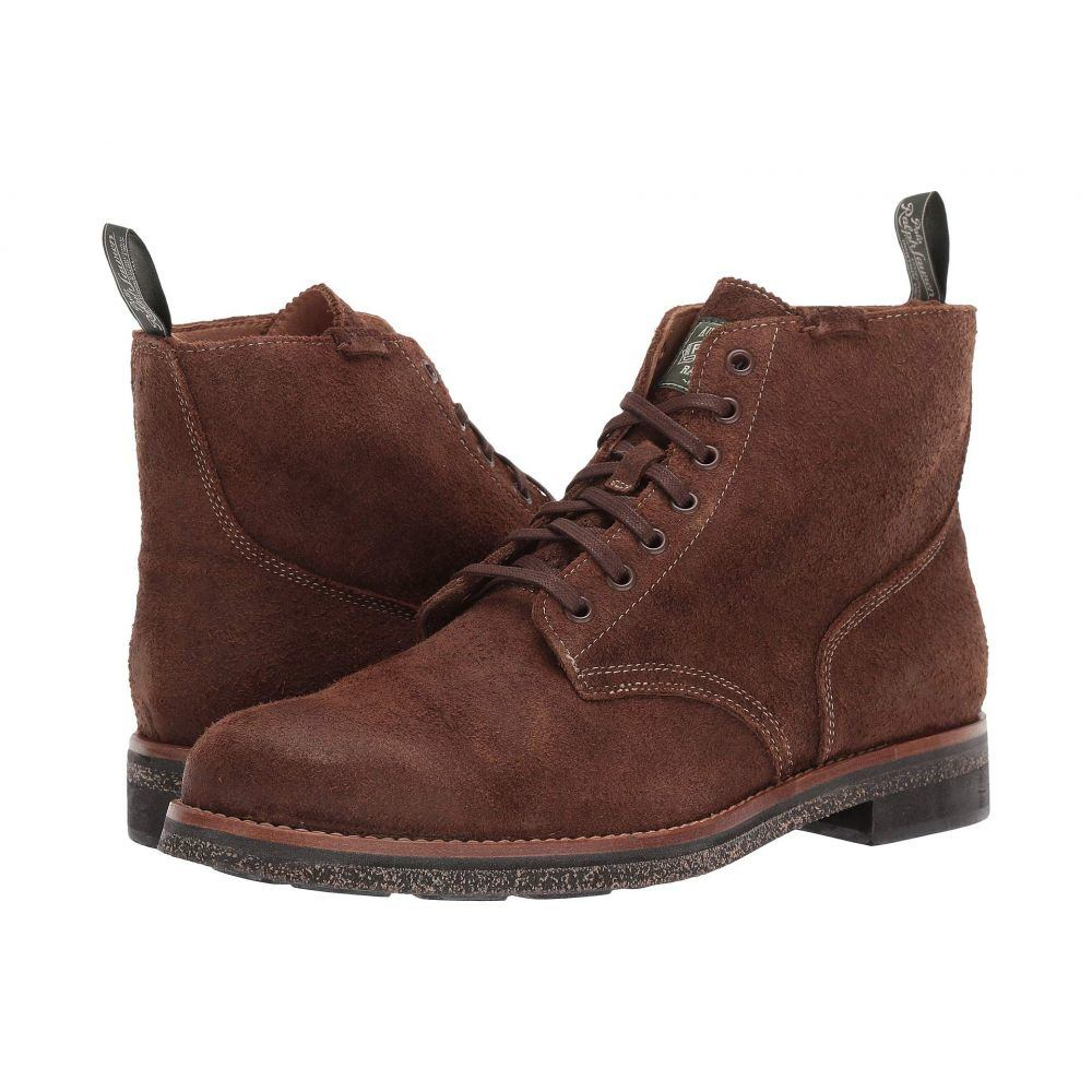 ラルフ ローレン Polo Ralph Lauren メンズ ブーツ シューズ・靴【Army Boot】Chocolate Brown Roughout Suede