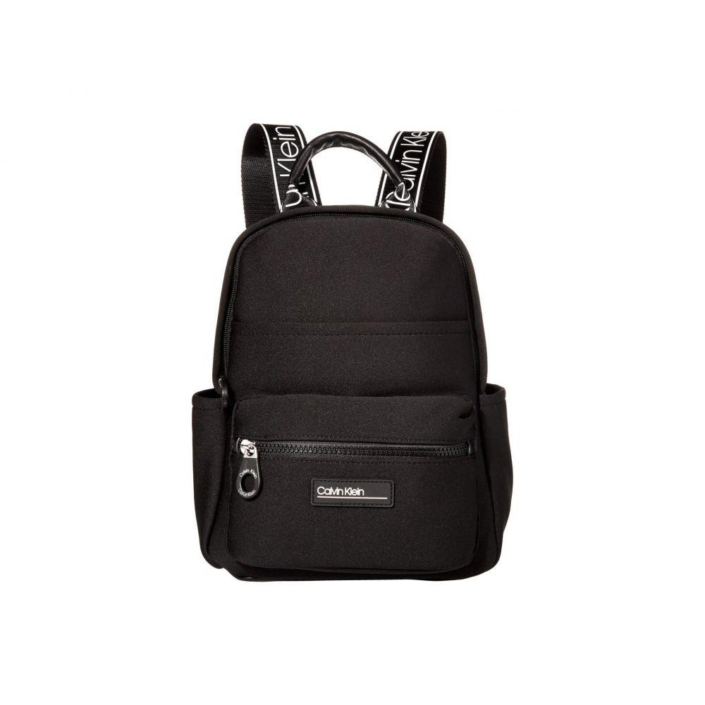 カルバンクライン Calvin Klein レディース バックパック・リュック バッグ【Vanessa Neoprene Backpack】Black