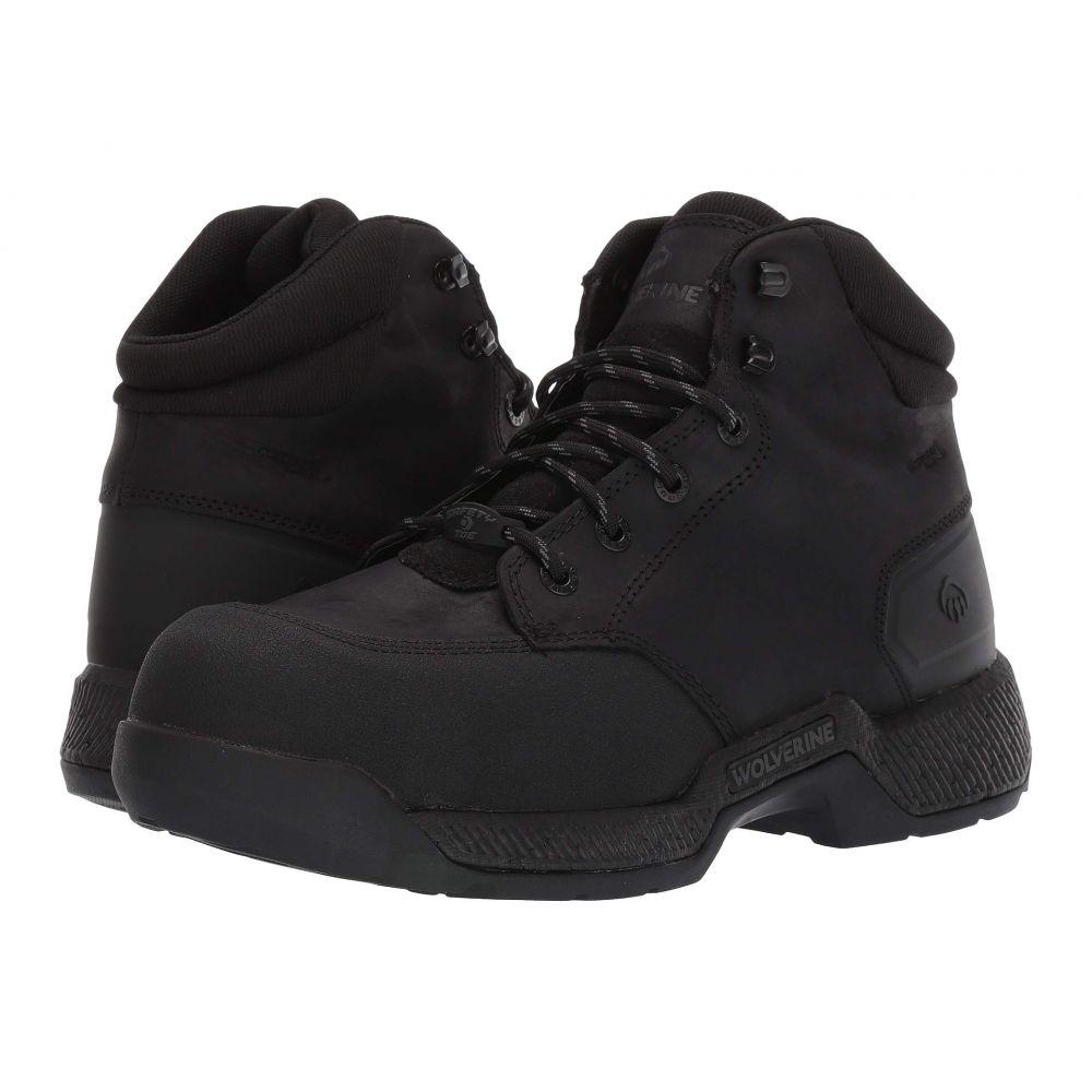 ウルヴァリン Wolverine メンズ ブーツ ワークブーツ シューズ・靴【Carom CarbonMAX 6 Work Boot】Black