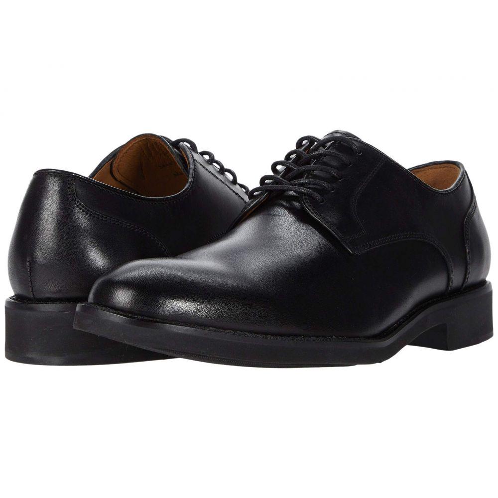 ジョンストン&マーフィー Johnston & Murphy メンズ 革靴・ビジネスシューズ シューズ・靴【Carlson Plain Toe】Black Italian Calfskin