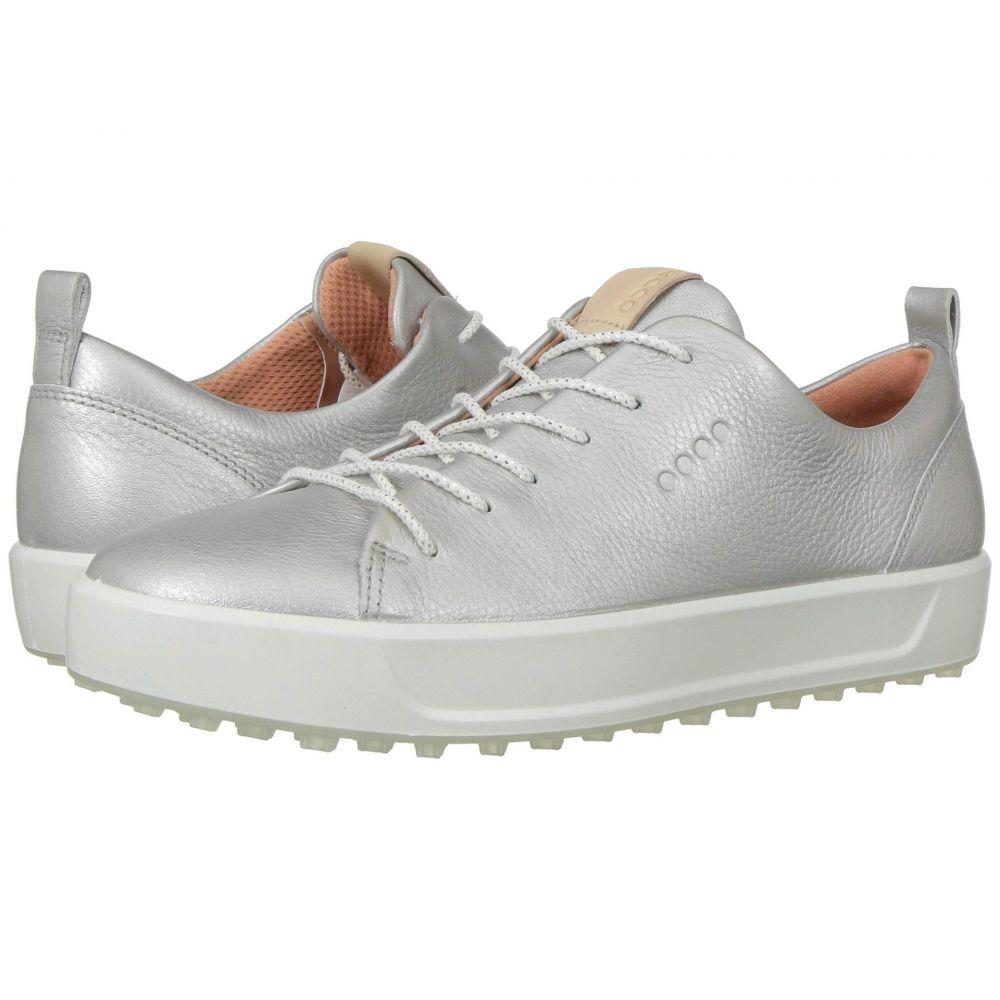 エコー ECCO Golf レディース シューズ・靴 【Soft Low Hydromax】Alusilver