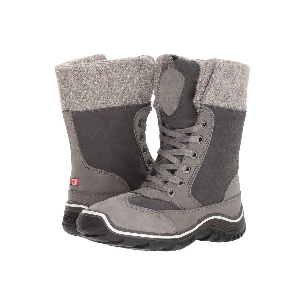 パジャー Pajar CANADA レディース ブーツ シューズ・靴【Ava】Grey/Dark Grey