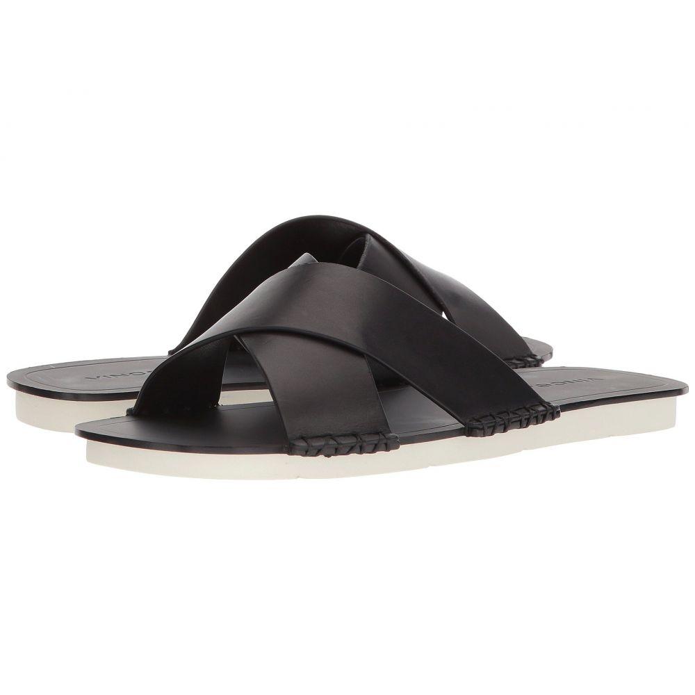 ヴィンス Vince レディース サンダル・ミュール シューズ・靴【Nico】Black Vacchetta Leather