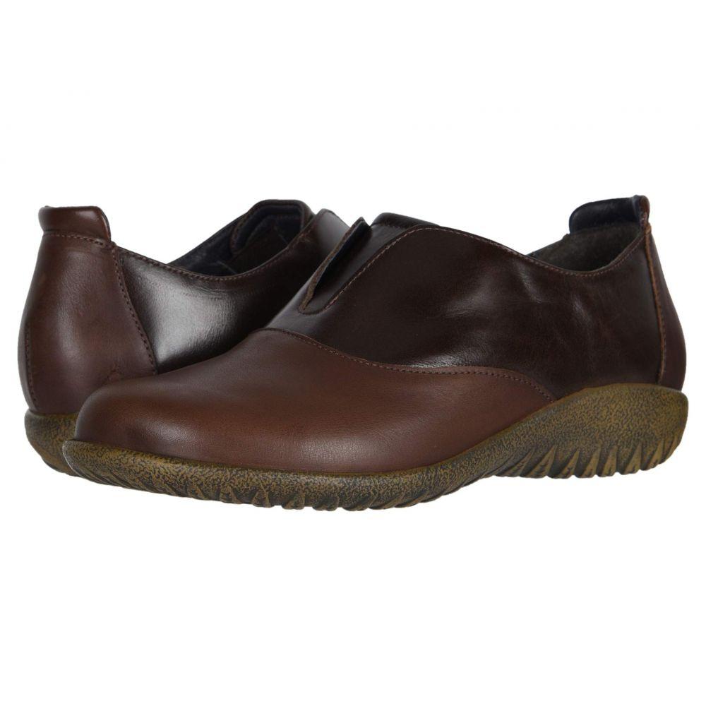 ナオト Naot レディース ローファー・オックスフォード シューズ・靴【Karo】Toffee Leather/Walnut Leather