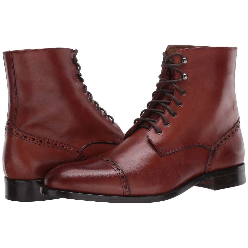 マッテオ マッシモ Massimo Matteo メンズ ブーツ シューズ・靴【7-Eye Cap Boot】Brandy