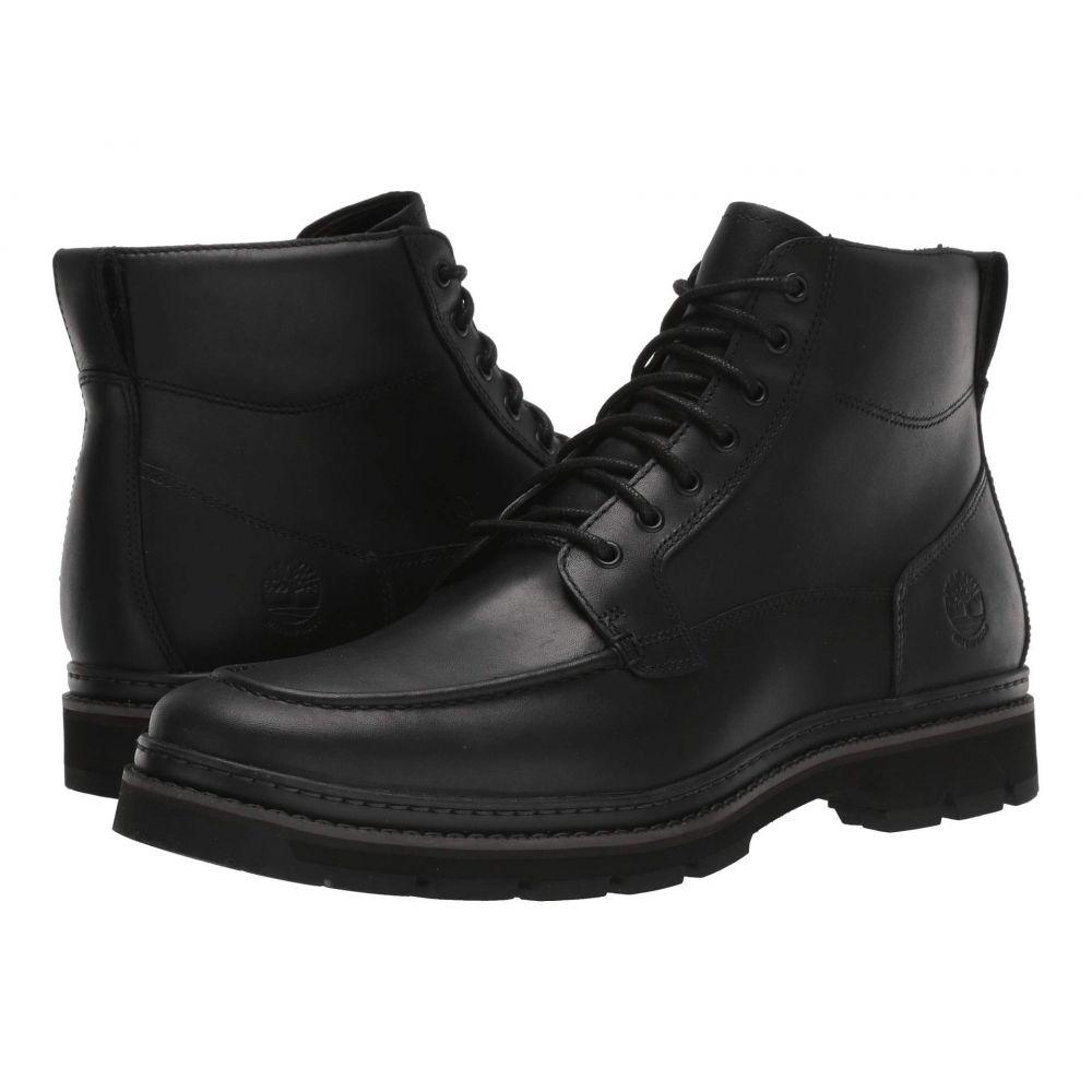 ティンバーランド Timberland メンズ ブーツ モックトゥ シューズ・靴【Port Union Waterproof Moc Toe Boot】Black Full-Grain