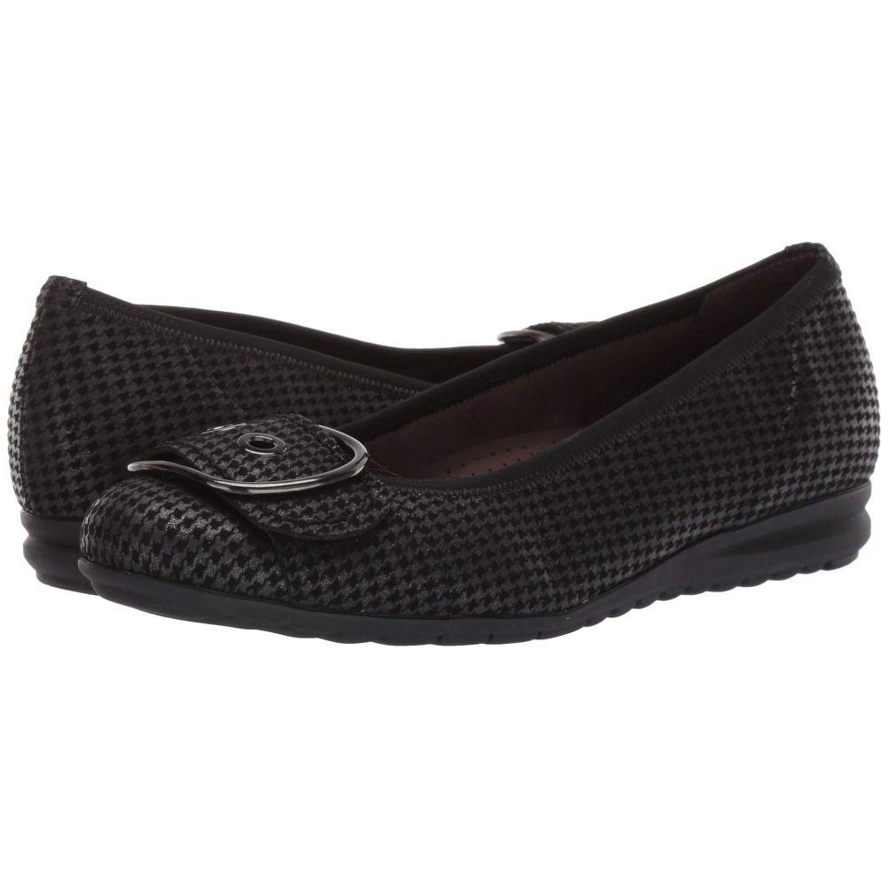 ガボール Gabor レディース スリッポン・フラット シューズ・靴【32.025】Anthracite Step