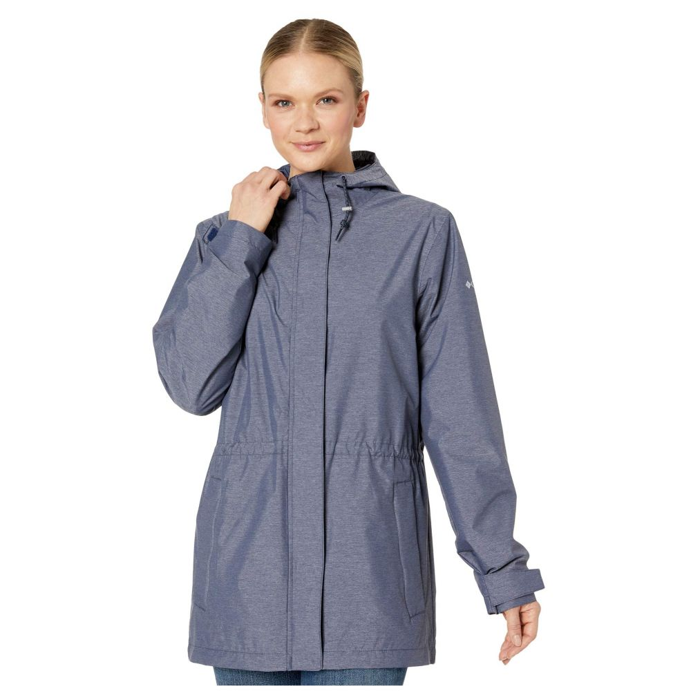 コロンビア Columbia レディース レインコート マウンテンジャケット アウター【Norwalk Mountain Jacket】Nocturnal Heather