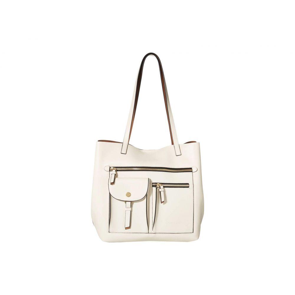 カルバンクライン Calvin Klein レディース トートバッグ バッグ【Rossa Smooth PU Tote】White Combo