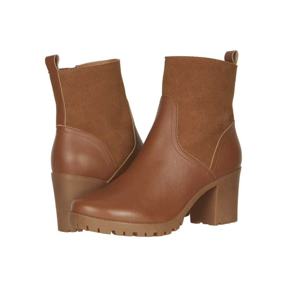 ソルドス Soludos レディース ブーツ シアリング シューズ・靴【Dani Shearling Platform Boot】Saddle