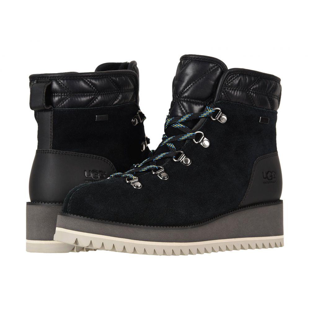 アグ UGG レディース ブーツ レースアップ シューズ・靴【Birch Lace-Up Boot】Black