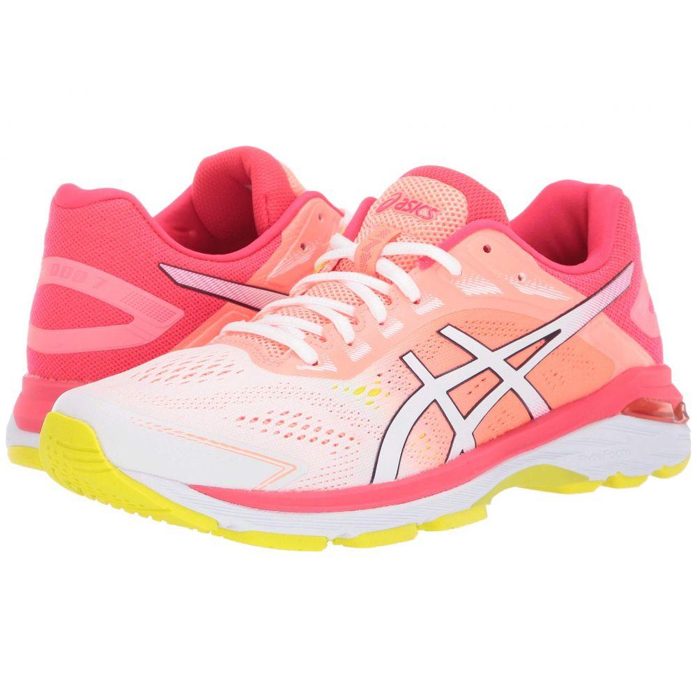 アシックス ASICS レディース ランニング・ウォーキング シューズ・靴【GT-2000 7】White/Laser Pink