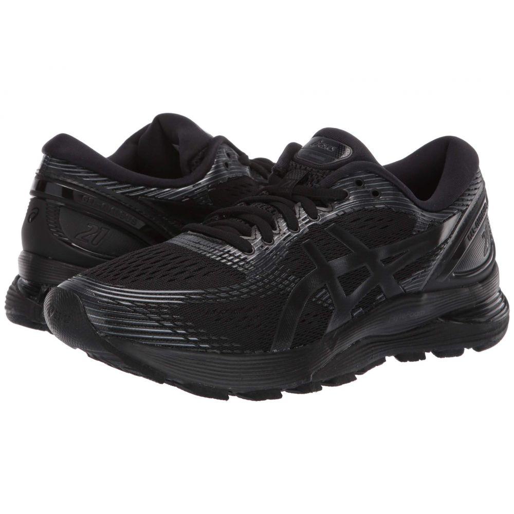 アシックス ASICS メンズ ランニング・ウォーキング シューズ・靴【GEL-Nimbus 21】Black/Black