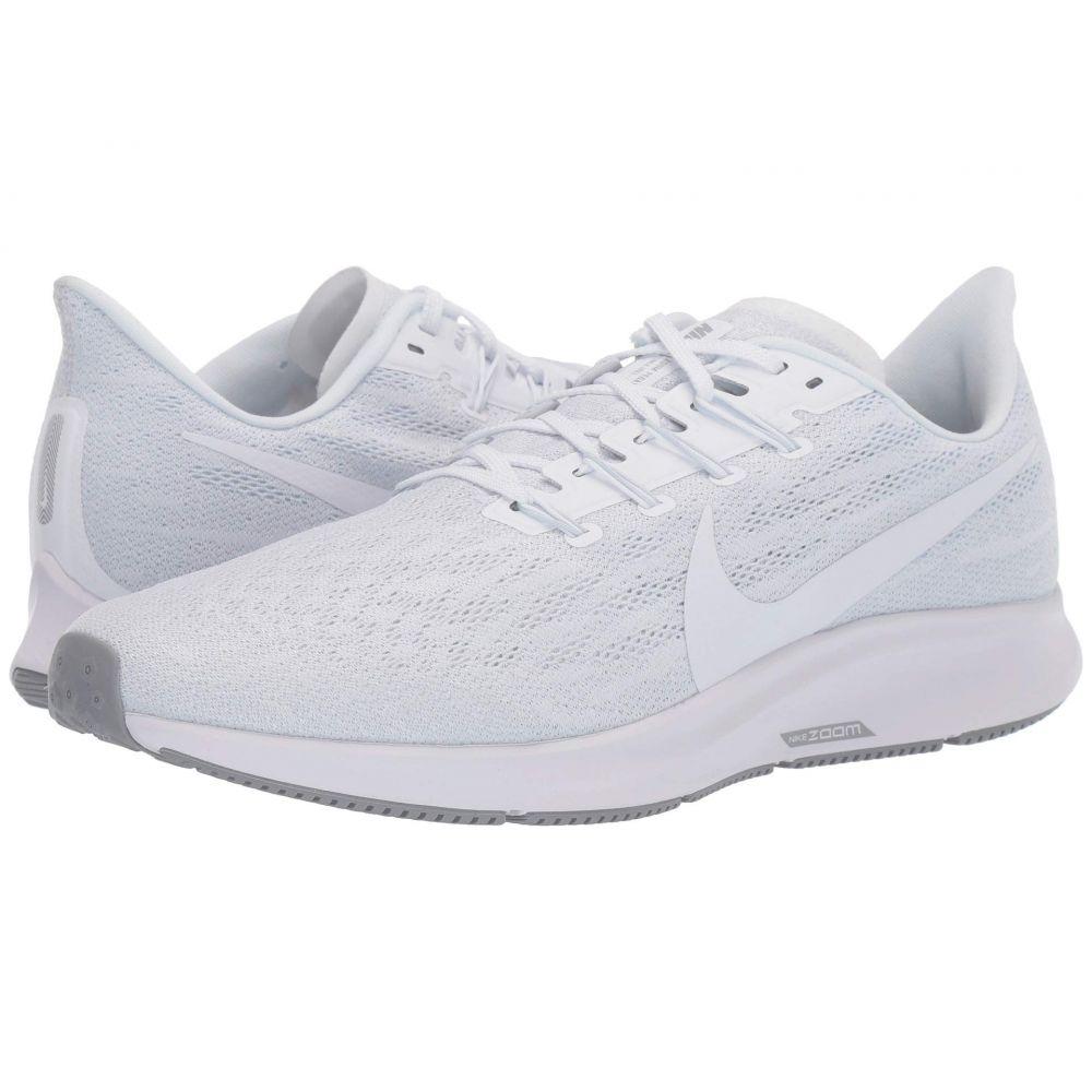 ナイキ Nike メンズ ランニング・ウォーキング エアズーム シューズ・靴【Air Zoom Pegasus 36】White/White/Half Blue/Wolf Grey