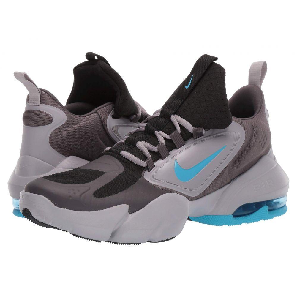 ナイキ Nike メンズ スニーカー シューズ・靴【Air Max Alpha Savage】Black/Light Current Blue/Thunder Grey