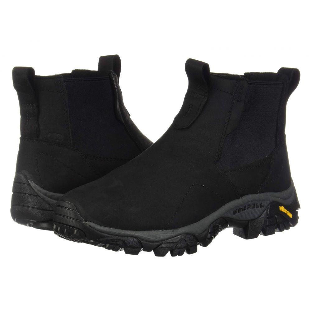 メレル Merrell メンズ ブーツ シューズ・靴【Moab Adventure Chelsea Polar Waterproof】Black