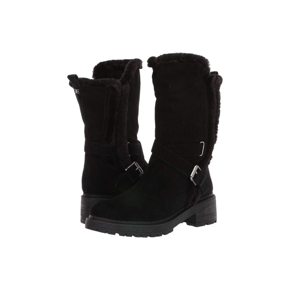 サム エデルマン Sam Edelman レディース ブーツ シューズ・靴【Jailyn】Black Wr Velutto Suede Leather/Sheared Faux Fox