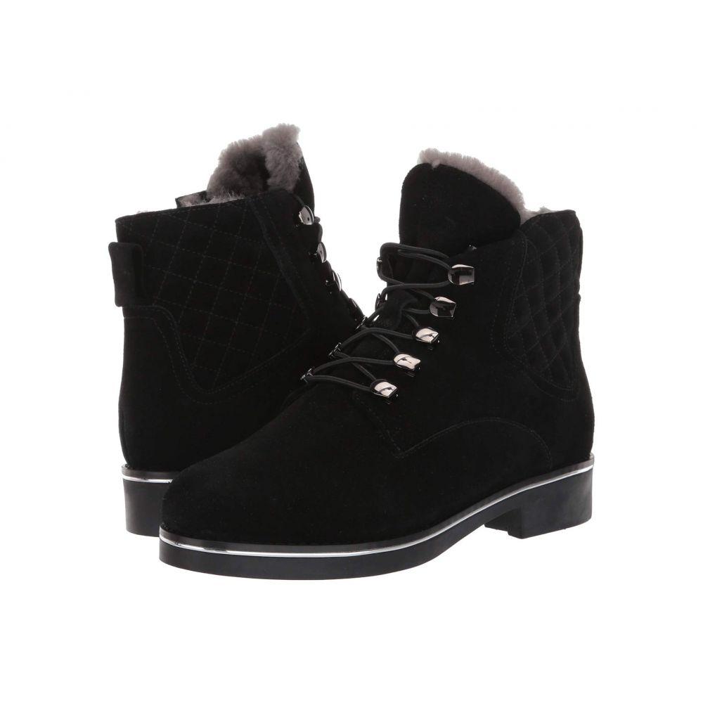 VALDINI レディース ブーツ シューズ・靴【Petra Waterproof Boot】Black Suede
