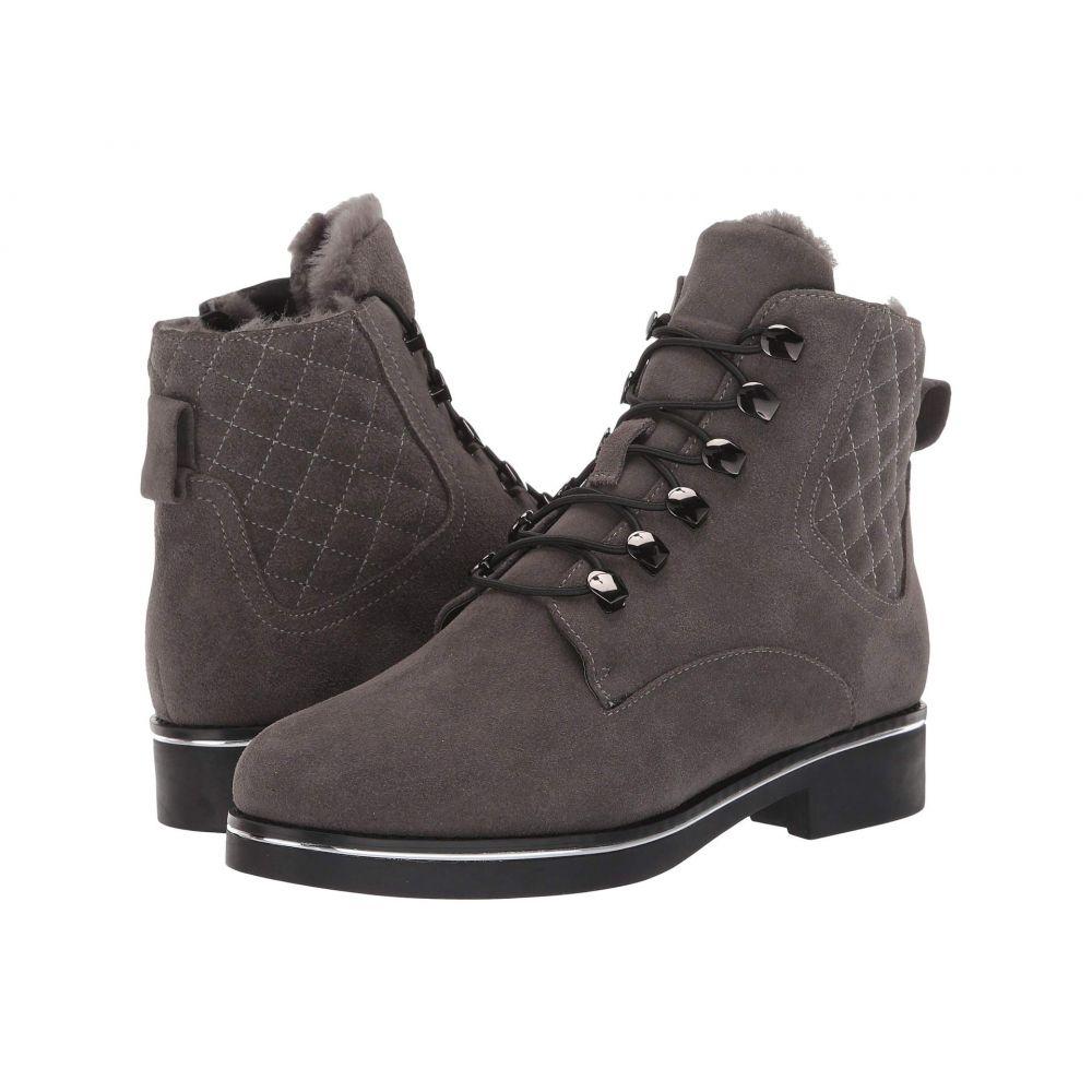 VALDINI レディース ブーツ シューズ・靴【Petra Waterproof Boot】Grey Suede