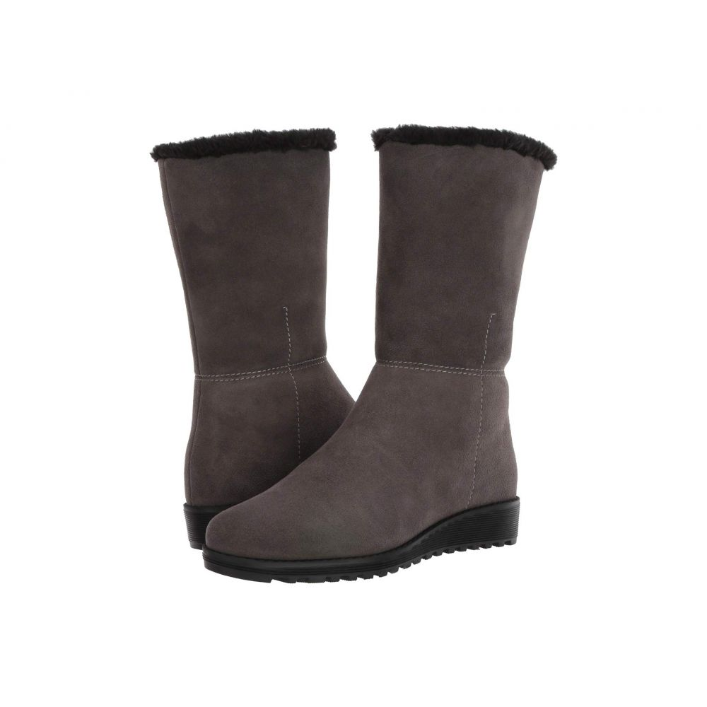 VALDINI レディース ブーツ シューズ・靴【Sofia Waterproof Boot】Grey Suede