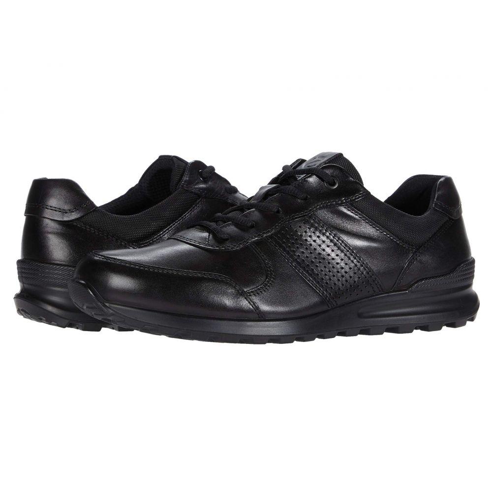 エコー ECCO メンズ スニーカー シューズ・靴【CS20 Premium Trainer】Black Cow Leather