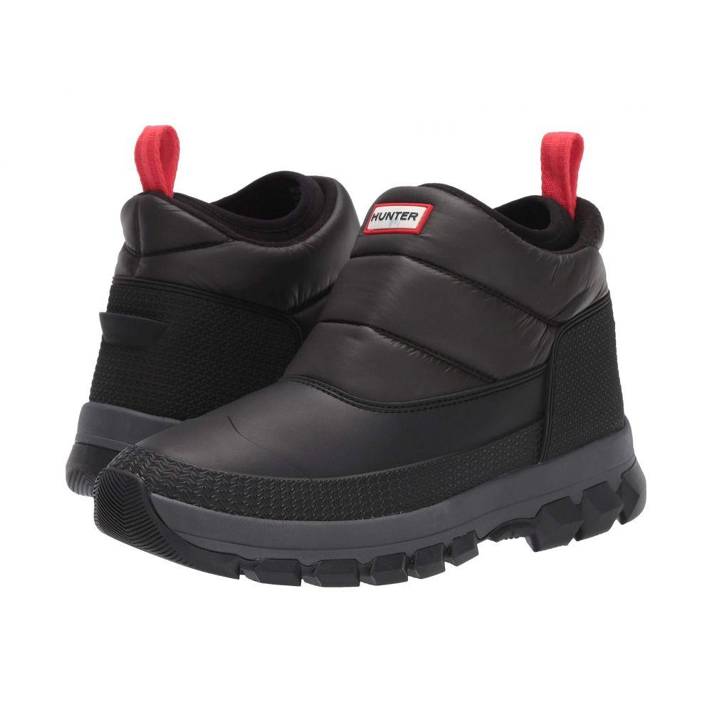 ハンター Hunter メンズ ブーツ ショートブーツ シューズ・靴【Original Insulated Snow Ankle Boot】Black