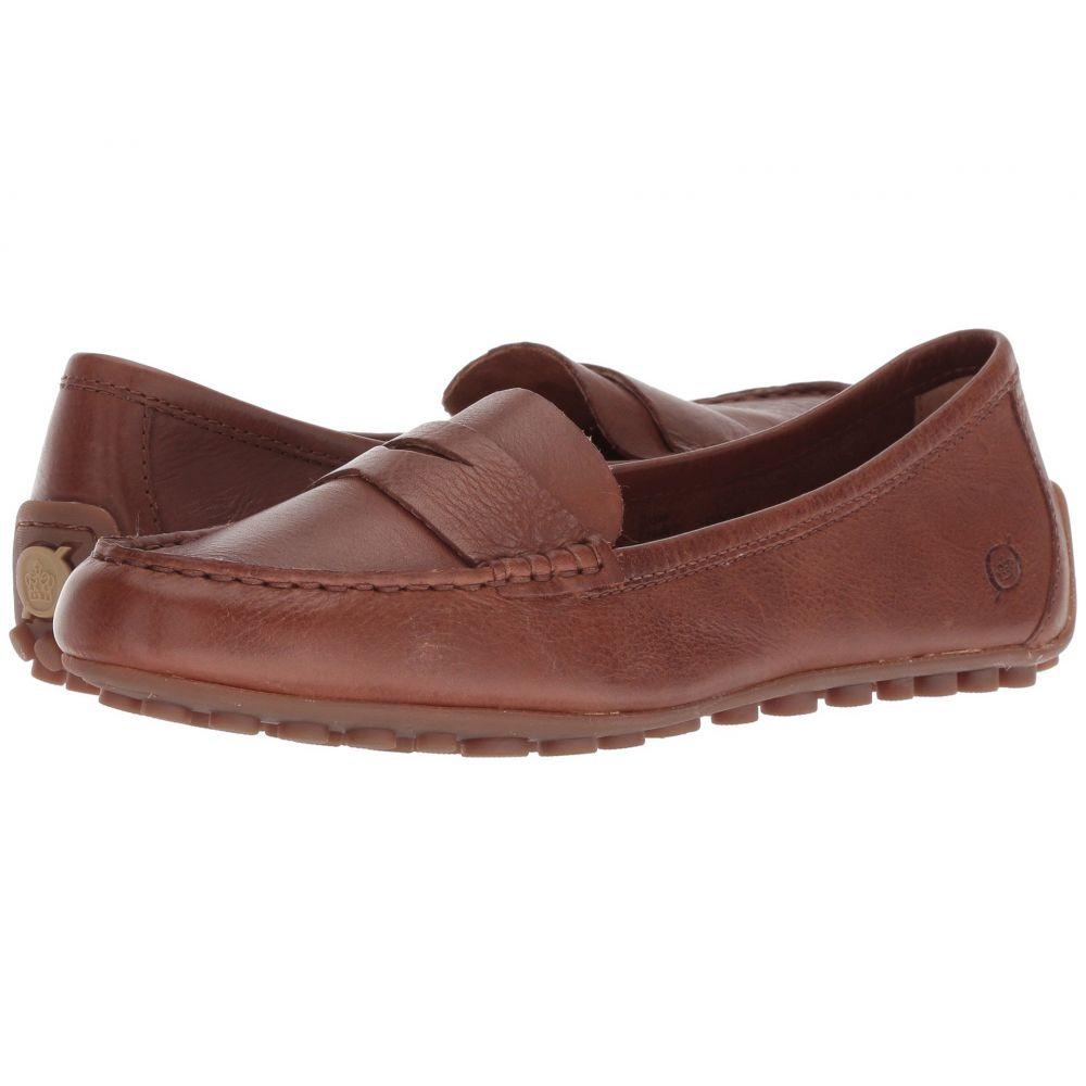 ボーン Born レディース ローファー・オックスフォード シューズ・靴【Malena】Light Brown Full Grain Leather